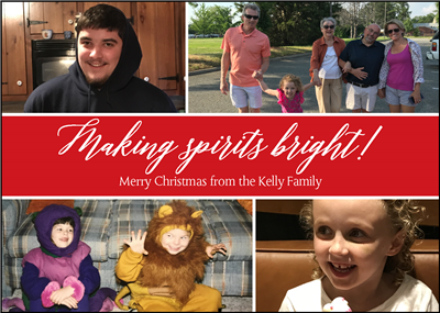 Spirits Bright  Holiday Cards
