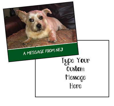 Custom Message - Petables